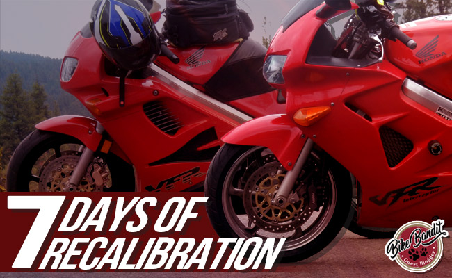 BikeBandit Guest Blogger Series: Seven Days of Recalibration