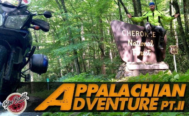 BikeBandit Guest Blogger Series: Appalachian Adventure Part 2-The Cherokee Shootout