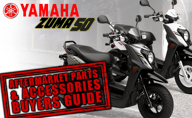 Yamaha Zuma 50 Aftermarket Parts and Accessories Buyers Guide