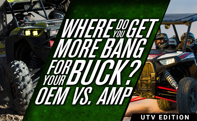 OEM vs. Aftermarket: Which UTV Parts Do You Need?
