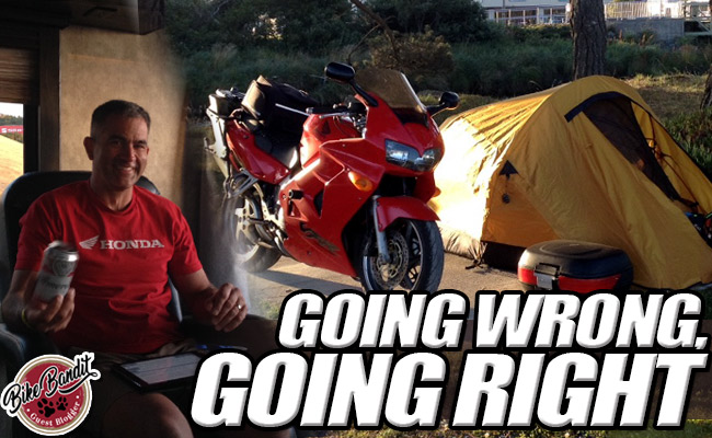 BikeBandit Guest Blogger Series: When Going Wrong Goes Right