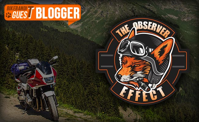 BikeBandit Guest Blogger Series: The Observer Effect