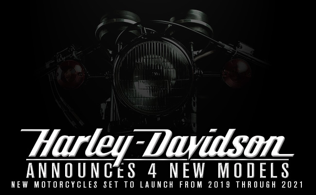Harley Davidson Announces Future Lineup