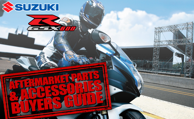 Suzuki GSX-R 600 Aftermarket Parts and Accessories Buyers Guide