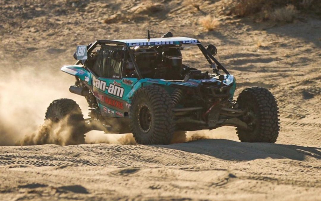 UTV King Of The Hammers Can-Am Podium Sweep