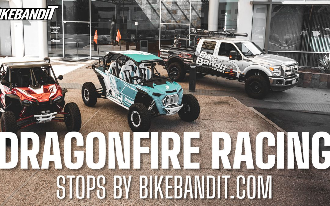 Dragonfire Racing Stops by the BikeBandit HQ!