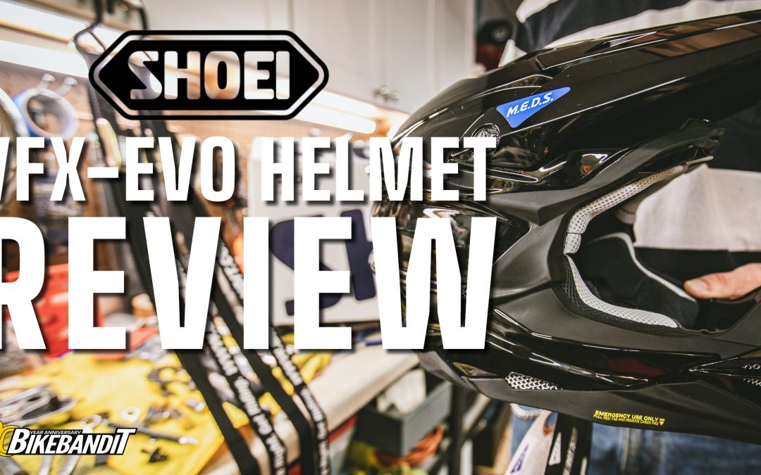 Shoei VFX-EVO Helmet Review with BikeBandit.com