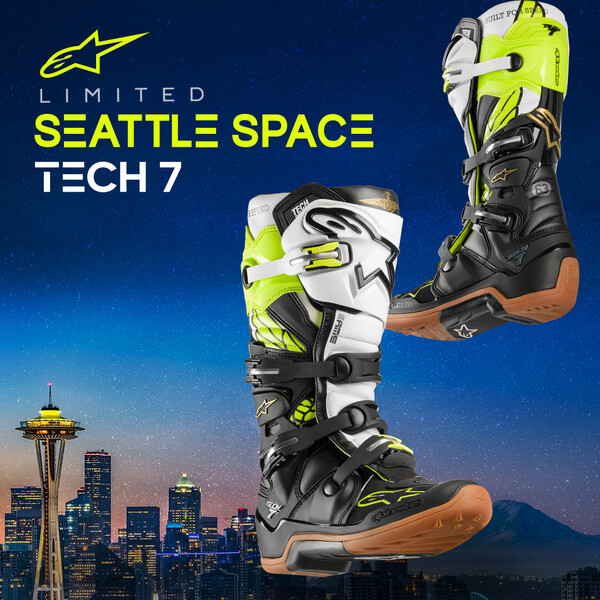 Alpinestars Motorcycle Boots: Tech 7 Seattle Space LE