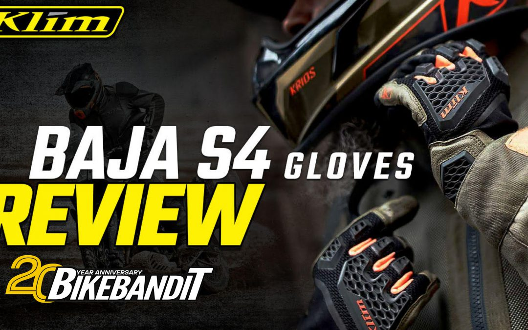 KLIM Baja S4 Motorcycle Glove Review