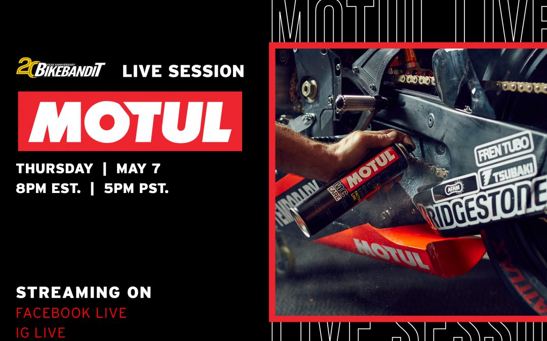 MOTUL Oils & Chain Lube | Live Session with Dave Wolman