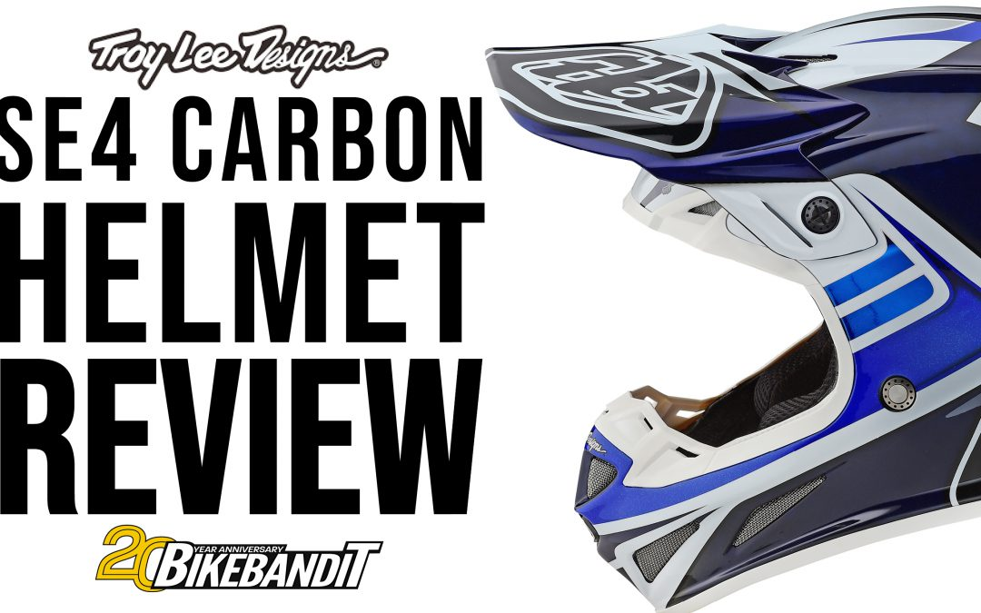Troy Lee Designs SE4 Carbon Helmet: Gear Review | BikeBandit