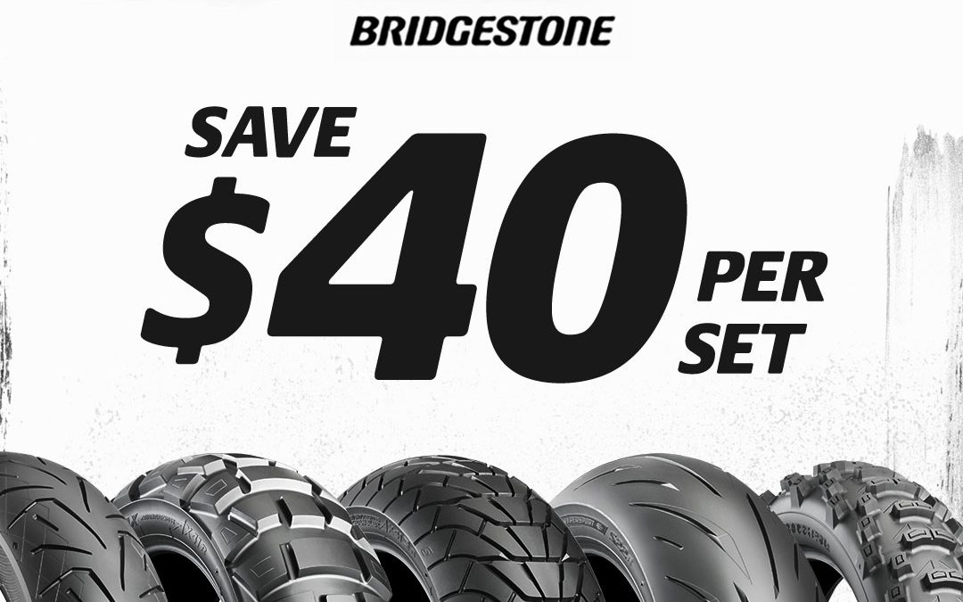 Bridgestone Late Summer Promotion