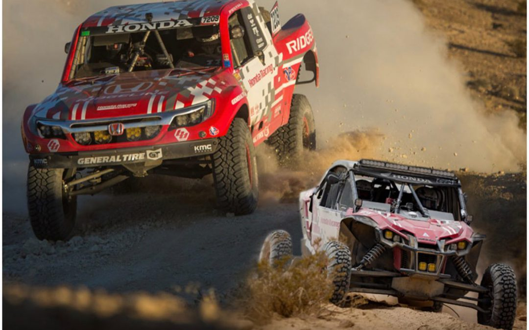 Honda Off-Road Racing & The Best In The Desert Vegas to Reno Race
