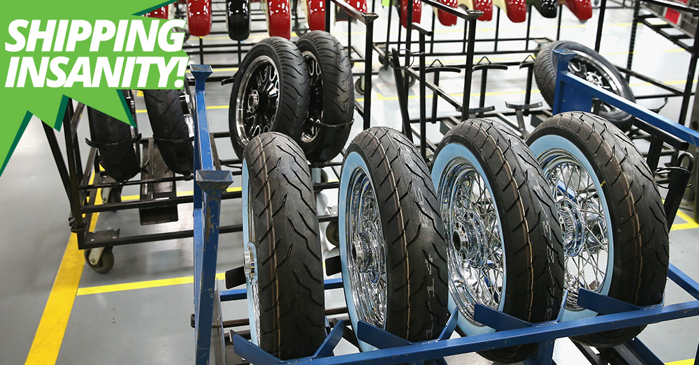 Motorcycle Tires for Sale Online: Shipping Insanity | BikeBandit