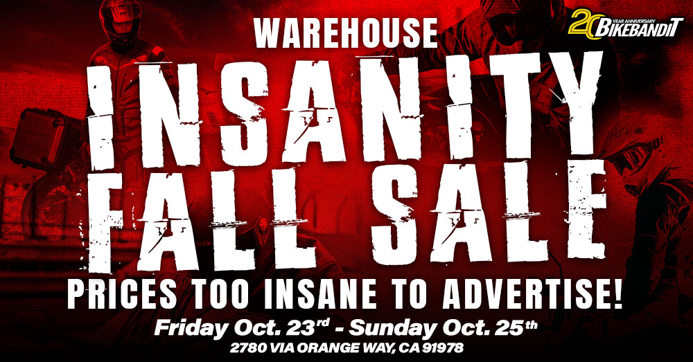 Warehouse Insanity Fall Sale