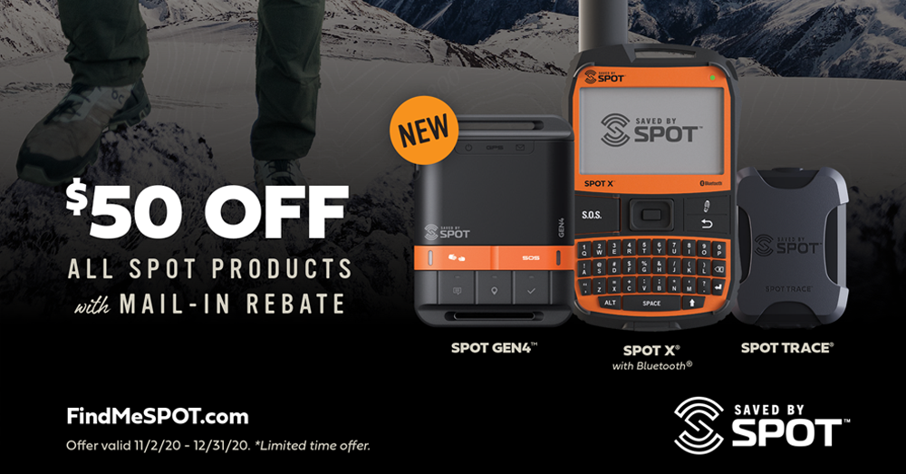 $50 OFF ALL SPOT PRODUCTS